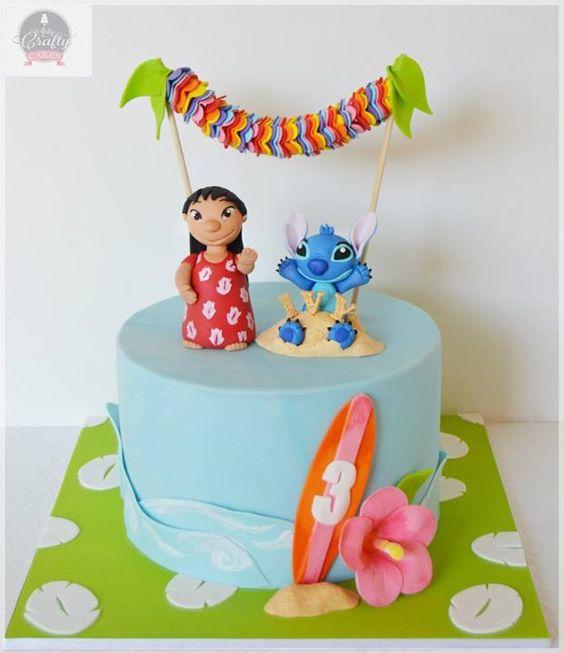 Lilo & stitch cakes