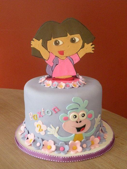 dora the explorer's cake