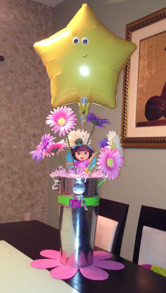 children's arrangements by dora the explorer