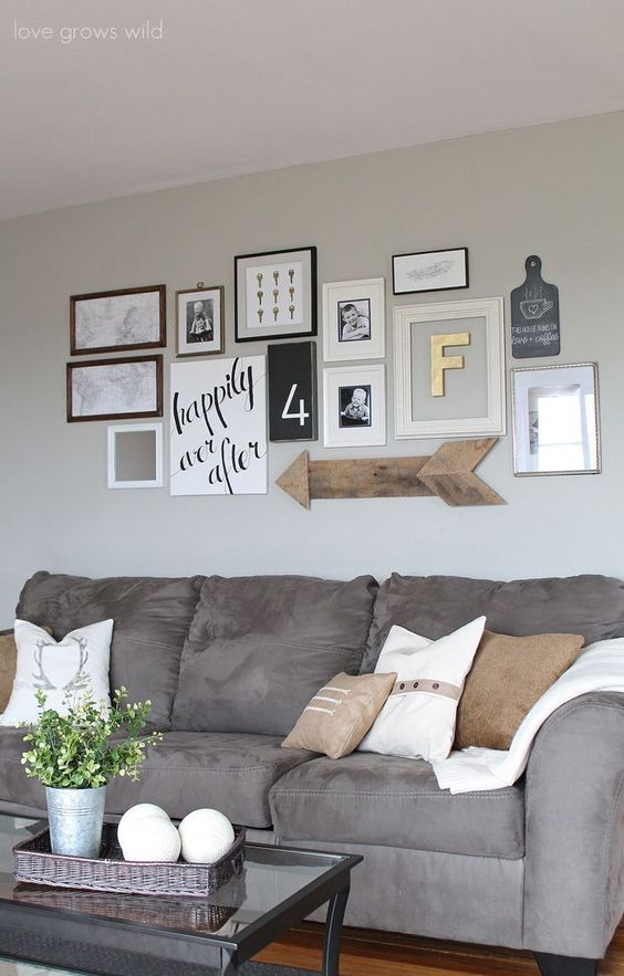 25 ideas to decorate with Letters