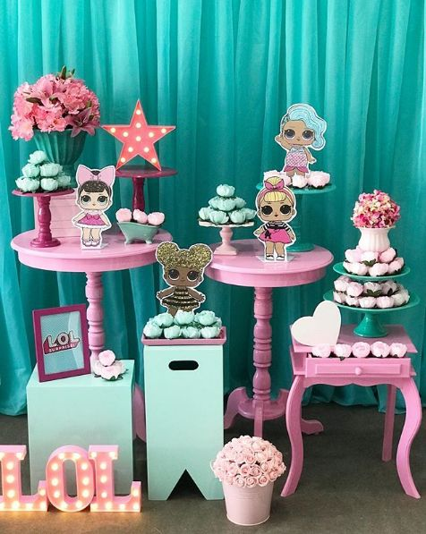 how to decorate party with theme lol splash queen (1)
