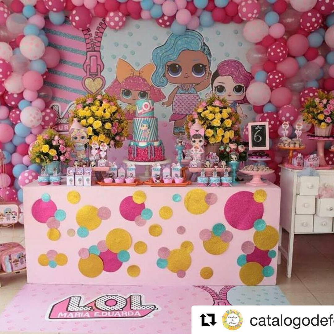 how to decorate party with theme lol splash queen (3)