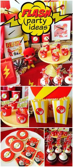 Flash decoration for children's party