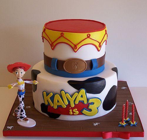 jessie cowgirl cake