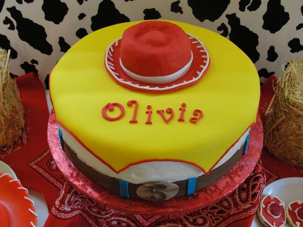 jessie's party cake