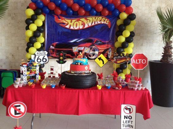 Theme decoration hot wheels