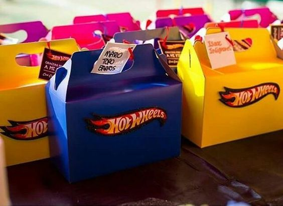 Sweets of hot wheels