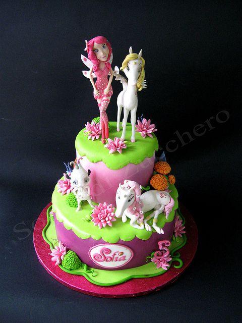 design cake mia and me