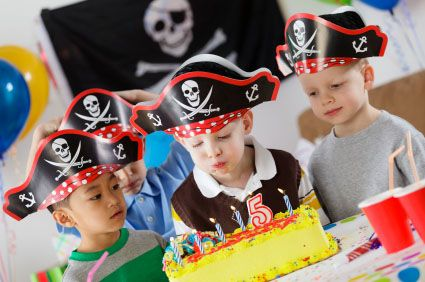 themes for birthday parties according to age for child 5