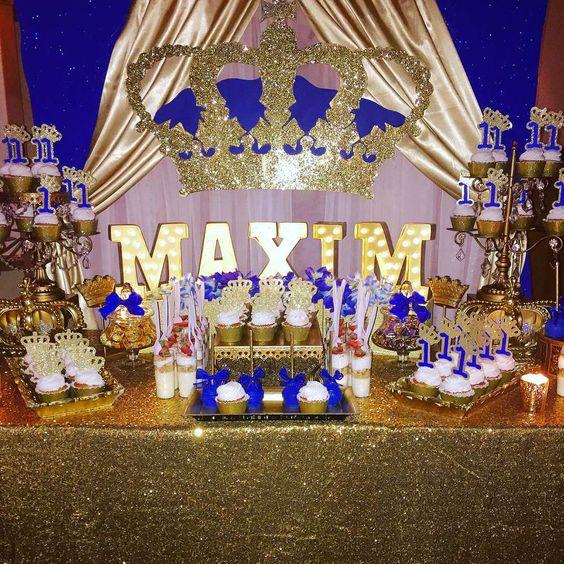 Ideas for a birthday with a royal theme