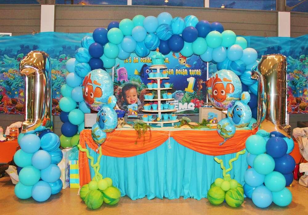 Nemo Birthday Decorations