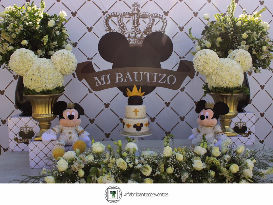Mikey Mouse Theme Party for the celebration of your Son's Baptism