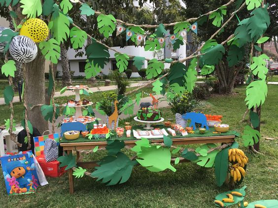 Ideas for jungle party