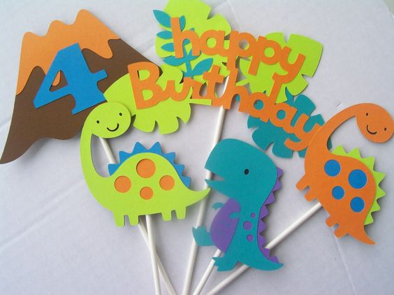 Dinosaur Birthday Decoration
