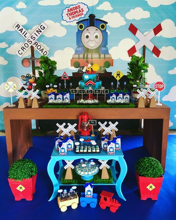 Party Ideas for Thomas and Friends