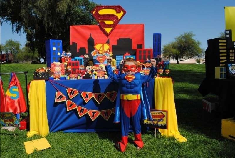 Superman's Birthday for Kids