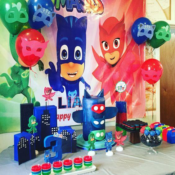 Pj Mask's Children's Theme Party