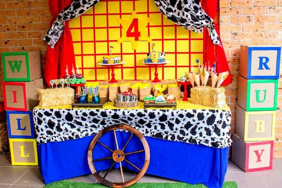 Woody's Birthday Ideas