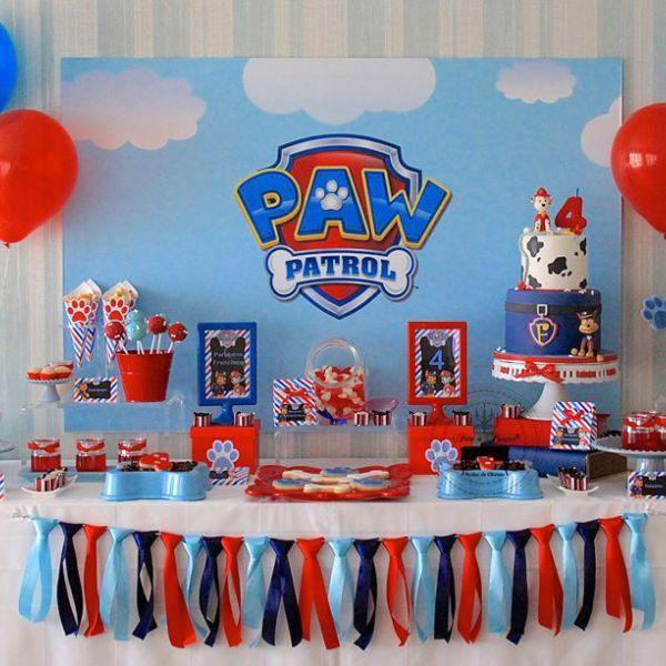 Paw Patrol Birthday Decoration