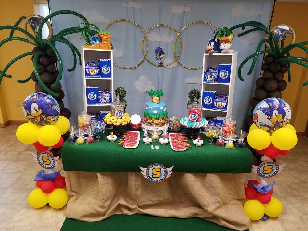 Sonic Party Decoration