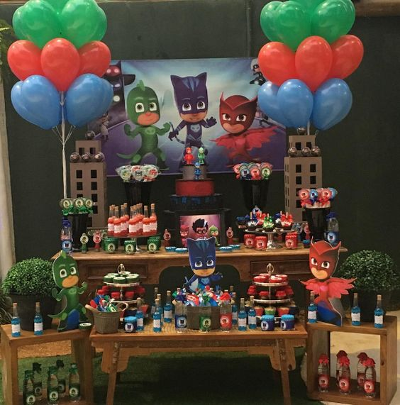 motifs for 5-year-old boy party 4
