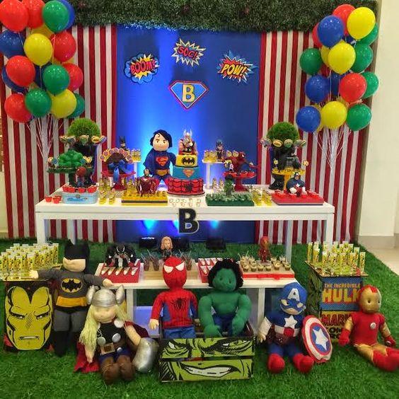 Children's Superhero Party