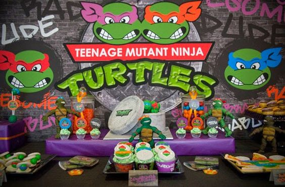 Ninja Turtle Theme Party!