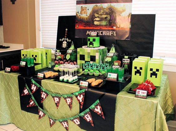 themes to decorate 9 year old children's birthday 2