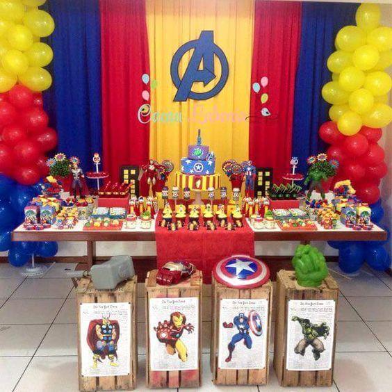 themes for decorating children's birthdays 3