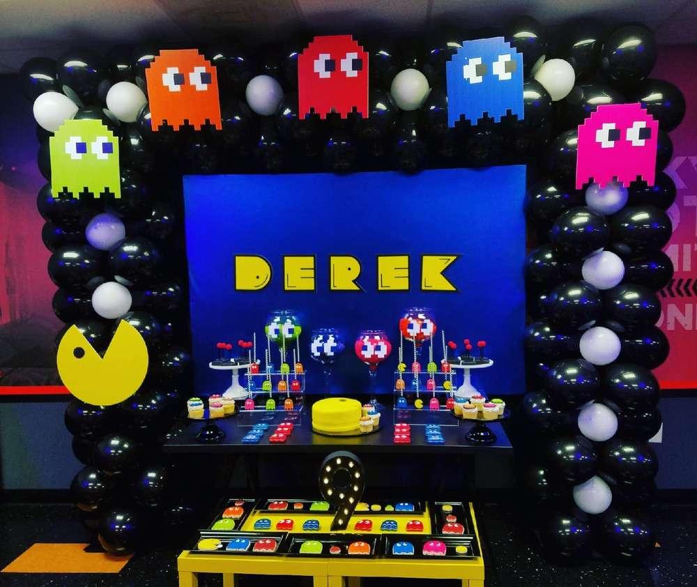pacman birthday decoration (1)