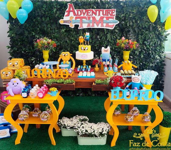 Adventure Hour Party Ideas