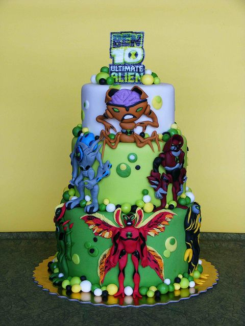 Ben 10's Birthday Party Decoration