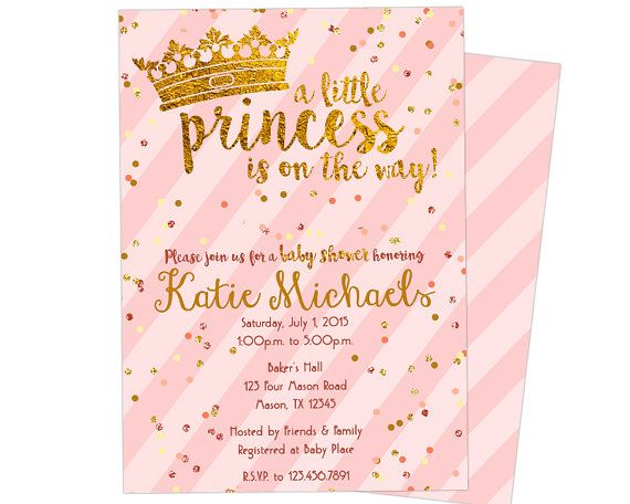 Ideas for Baby Shower invitations for girls