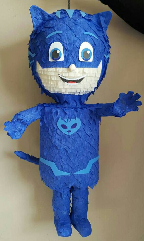 piñata of heroes in pajamas