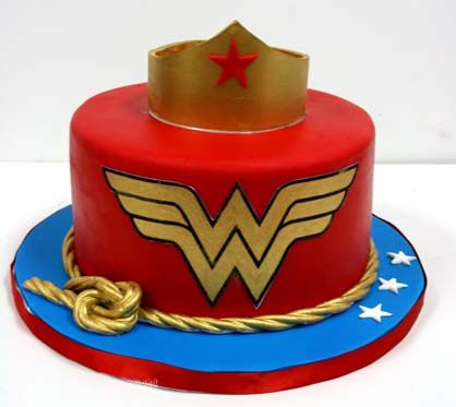 Wonder Woman Cakes (1)