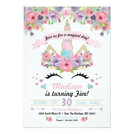 unicorn invitations (2)
