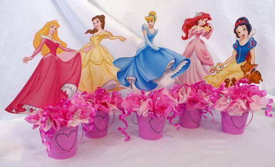 Princess Table Centers