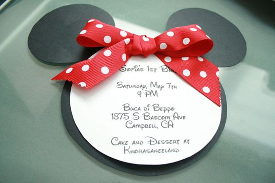 minnie mouse invitations (3)