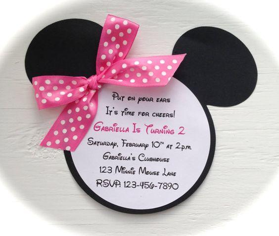 minnie mouse invitations (4)