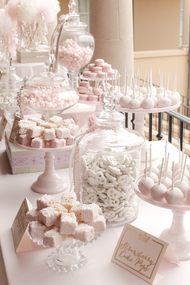 dessert tables for baby shower