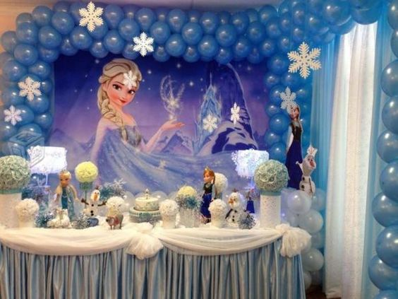 Frozen Ideas Birthday