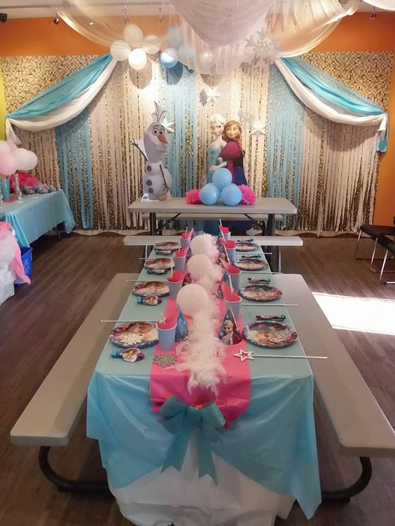 how to organize a frozen 2 birthday party