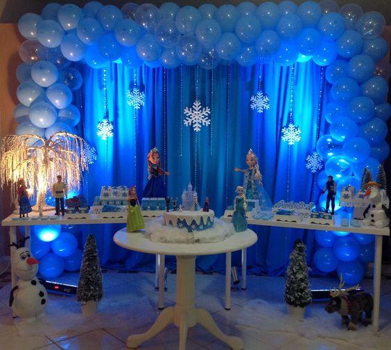 decoration with nina frozen 2 birthday balloons