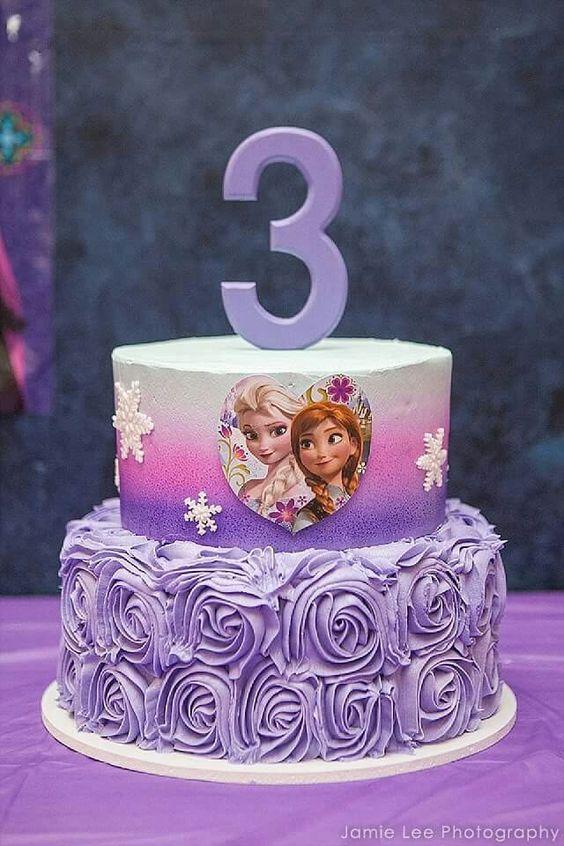 elsa frozen cake 2