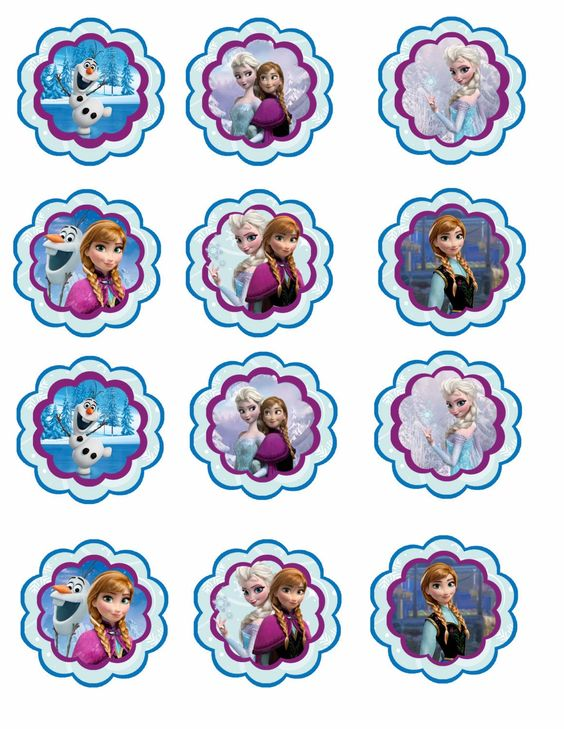 frozen image for cupcakes