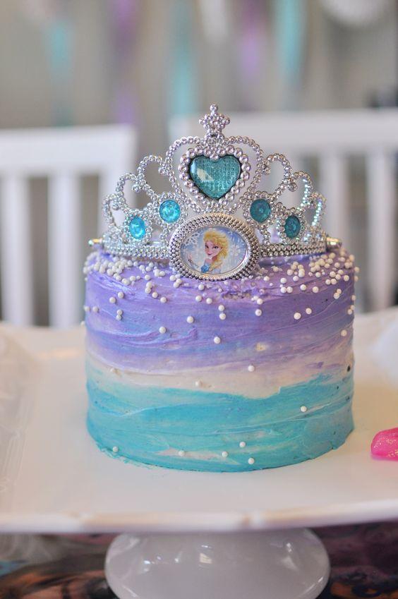 elsa frozen cake 3