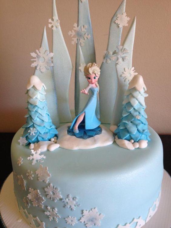 like decorating a frozen cake