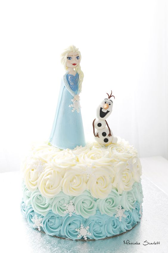 simple frozen cakes for nina