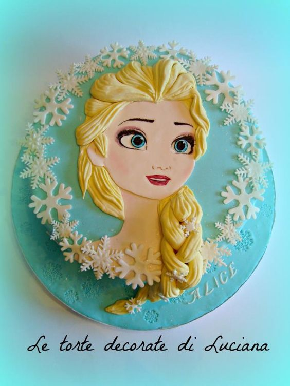 simple cakes for nina frozen 3