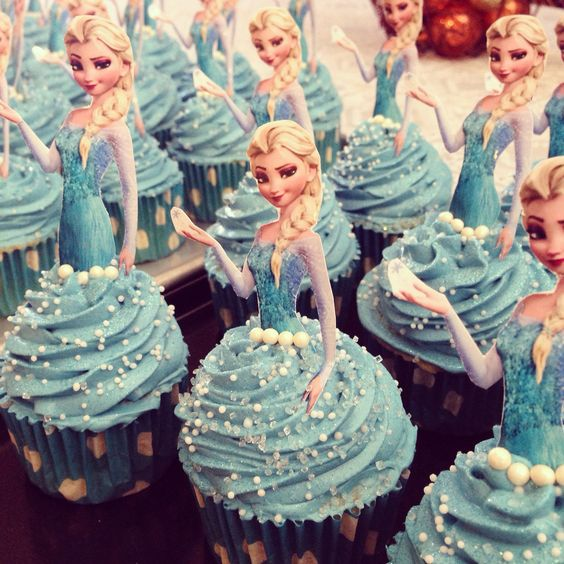handicrafts for nina frozen party 2